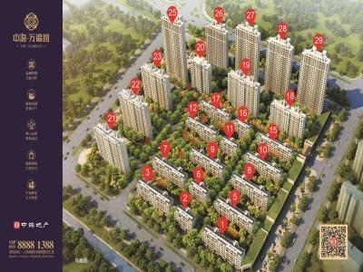 中海·万锦园 鸟瞰图