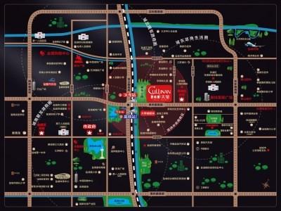 碧桂园·天玺 区位图