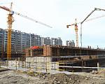 晶都悦府 2017年5月施工进度