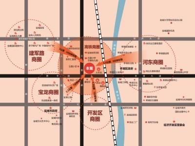 豪德广场 区位图