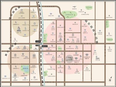 京师·学院山 区位图