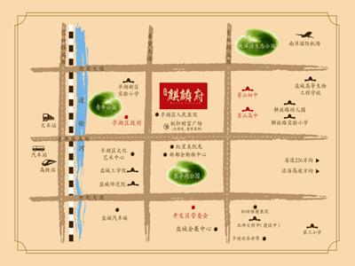 荣润·麒麟府 区位图