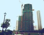 天成苑 2017年8月施工进度