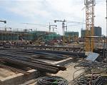 中海·万锦园 2017年8月施工场地南园