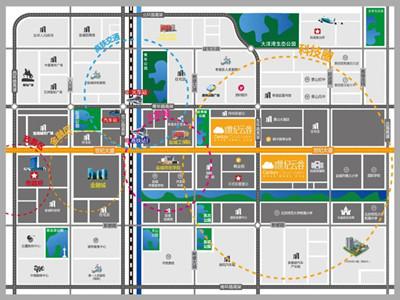 碧桂园·世纪云谷 区位图