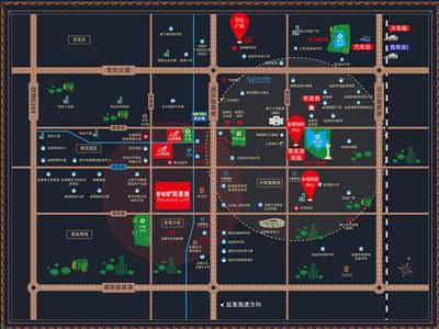 碧桂园·凤凰城 区位图