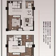 博联·阳光名寓 A户型