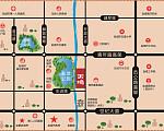 碧桂园天境 区位图