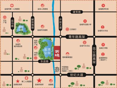 碧桂园·天境 区位图