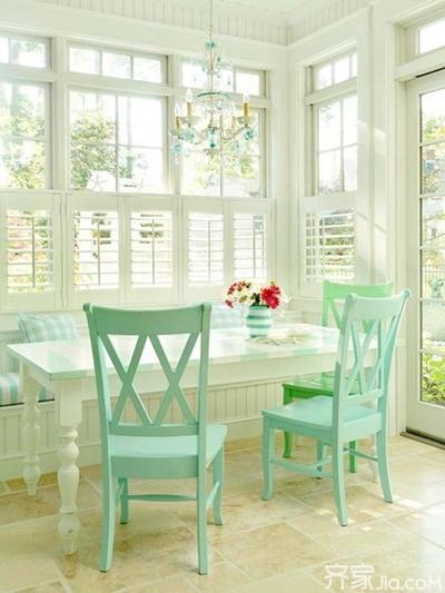 餐厅也要小清新 让家的每个空间都完美