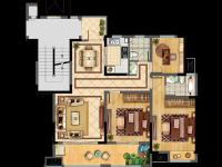 12#A 3室2厅2卫 115㎡