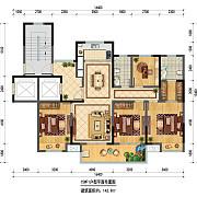 15#F1 4室2厅2卫 142.9㎡ 15#F1 4室2厅2卫 142.9㎡