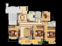 16#D 4室2厅2卫 135.6㎡