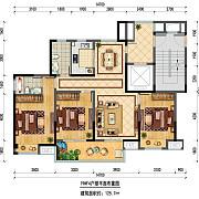 19#F4 3室2厅2卫 125.7㎡ 19#F4 3室2厅2卫 125.7㎡