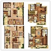 别墅240㎡三层 别墅240㎡三层