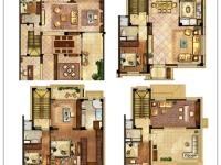 别墅260㎡三层