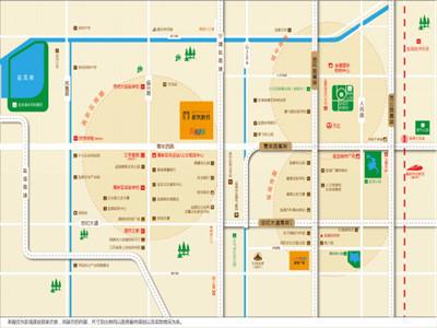新城青年路项目 区位图
